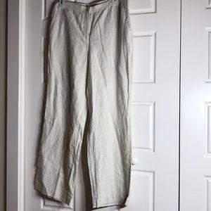 Liz Claiborne linen pants
